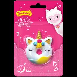 """Подарунковий набір """"Пончик для Принцеси"""" - блиск для губ Принцеса"""