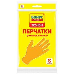 БОНУС Рукавички латексні помаранчеві 1 пара, S