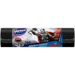 Vortex пакеты для сміття двошарові 160л/10 шт Thor