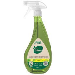 """GO GREEN Засіб чистячий для скла """"Лимон"""" 0,5 л від Фрекен БОК"""