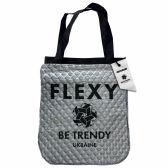 Cумка-шопер Fashion Be TRENDY графіт