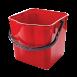 Ведро для тележки красное, 25л CK750-T (SK797-R)
