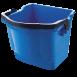 Ведро синее пластиковое, 18л