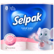 "Туалетний папір SELPAK Perfumed ""Пудра"" 8шт."