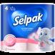 "Туалетний папір SELPAK Perfumed ""Пудра"" 4шт."