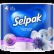 """Туалетная бумага SELPAK Perfumed """"Лаванда"""" 4шт."""