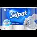Туалетная бумага SELPAK белая 12 шт.
