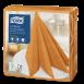 Серветки для декору Tork LinStyle Premium помаранчеві, 50 аркушів