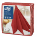 Серветки для декору Tork LinStyle Premium червоні, 50 аркушів