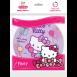 Тарілки паперові Hello Kitty МІКС, EVENTA 18 см, 6 шт.