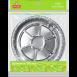 Форма алюмінієва кругла EVENTA 228*45мм, 3 шт.