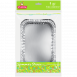 Форма алюмінієва прямокутна EVENTA 215*155*45мм, 4 шт.
