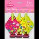 EVENTA Дудки-язички пластикові з картонним декором  2016. Зірки, 6 шт/уп (20 шт/ящ)