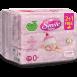 Вологі серветки Smile baby для новонароджених з харчовими інгредієнтами 72 шт. 2+1