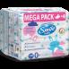 Дитячі вологі серветки Smile baby з рисовим молочком 60 шт. Mega Pack
