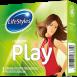 Латексні презервативи PLAY, LifeStyles 3 шт.