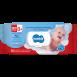 Вологі серветки ТМ Bambik дитячі з вівсяним молочком 120 шт.