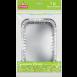 Форма для запікання алюмінієва EVENTA 215*155*45мм 4шт.