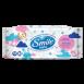 Дитячі вологі серветки Smile baby з рисовим молочком 56 шт.