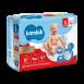 Підгузки дитячі одноразові Jumbo (5) JUNIOR (11-25 кг), TM Bambik